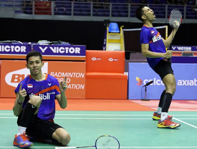 Indonesian Youngsters Claim Malaysia Masters Title