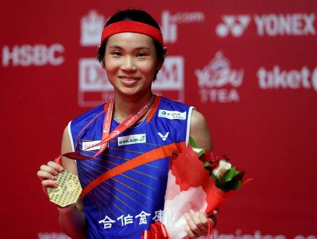 Tai Tzu Ying took the first World Tour title at Indonesia Masters