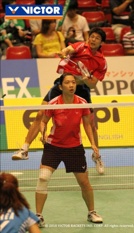 Mixed doubles pair Chen Hung-Ling/Cheng Wen-Hsing won Chinese Taipei (Taiwan's) first ever badminton medal