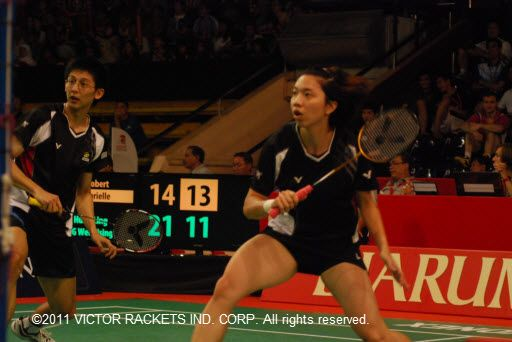 Chen Hung-lin/Cheng Wen-hsin fought to the end, losing gloriously in the semis.