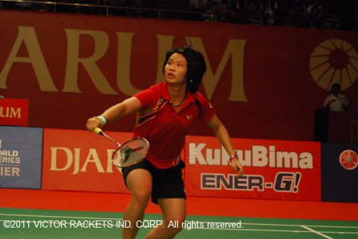 Tai Tzu-ying took the US Open Badminton women's singles crown, becoming the youngest player ever to take the title.