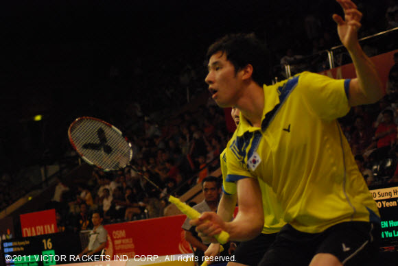 Lee Yong Dae/ Ko Sung Hyun have taken the US and Canada Open men's doubles titles in succession