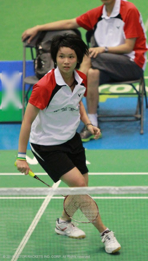 Tai Tzu Ying reached the semi-final stage and is determined to do well at the 2011 Taipei Open