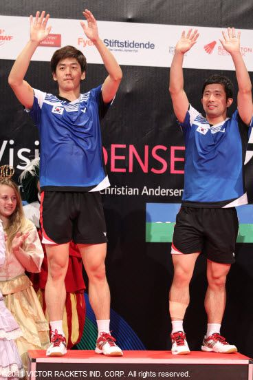 Jung Jae Sung and Lee Yong Dae