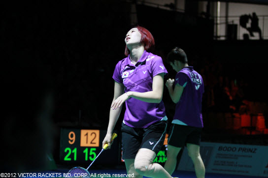 South Korea  In the mixed doubles: Ha Jung Eun / Lee Yong Dae
