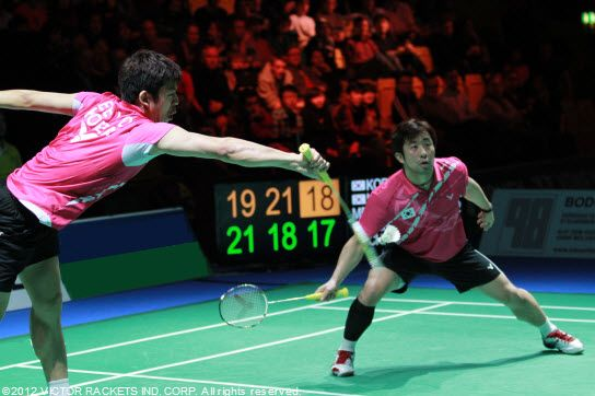 South Korea  In the men's doubles: Jung Jae Sung / Lee Yong Dae