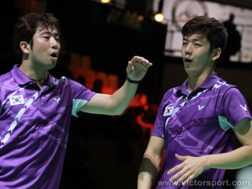 Jung Jae Sung/ Lee Yong Dae in GERMAN OPEN 2012