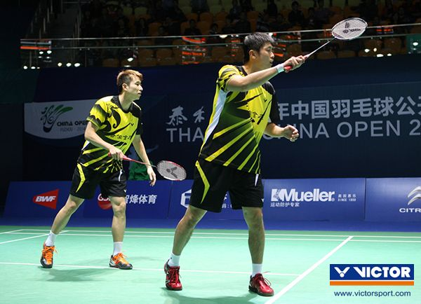 Lee Sheng Mu and Tsai Chia Hsin